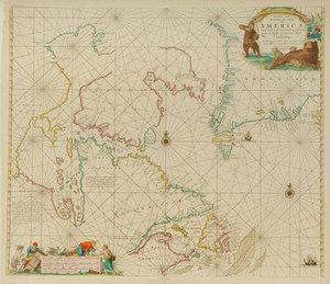 Johannes Van Keulen - America Map