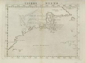 Girolamo Ruscelli - Tierra Nueva 1561