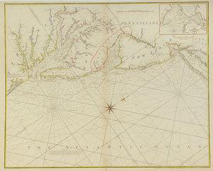 William Heather - Map of Chesepeake Bay