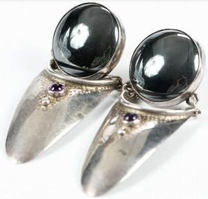 Three Pieces Silver Jewelry
