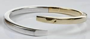 Two 14kt. Bracelets