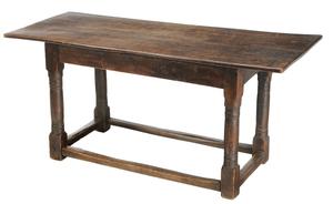 Jacobean Style Oak Library Table