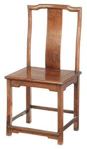 Chinese Hardwood Side Chair