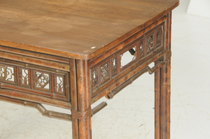 Two Vintage Asian Tables