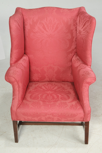 Two Similar George III Easy Chairs