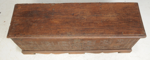 Baroque Carved Oak Cassone