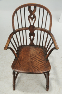 British Windsor Open Armchair