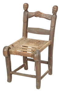 Rare and Important American Folk Art Chair