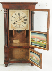 Forestville Verre Églomisé Mantle Clock