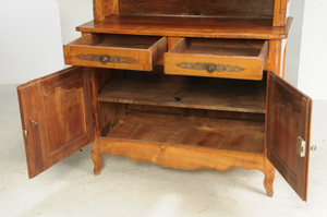 Provincial Louis XV Style Fruitwood Server
