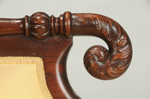 Classical Style Mahogany Sofa