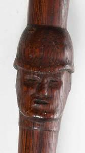 Carved Folk Art Baton