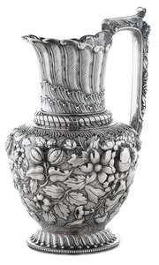 Gorham Repousse Sterling Pitcher