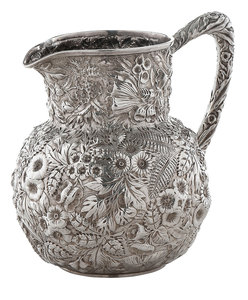Kirk Sterling Repousse Water Pitcher