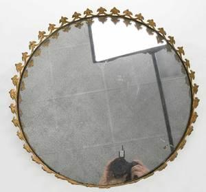 Gilt Bronze Mirrored Plateau