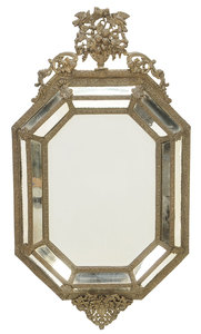 Dutch Baroque Style Mirror Framed Mirror
