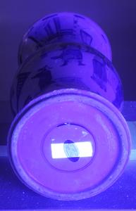 A Fine Kangxi Blue and White Yen Yen Vase
