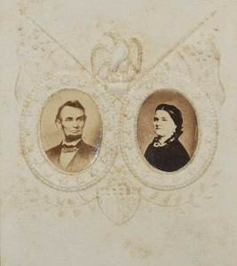 Vintage Photos of Abraham and Mary Lincoln