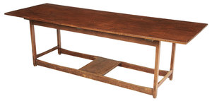 American Shaker Style Pine Harvest Table