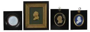 Four George Washington Framed Profile Portraits