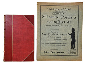 Two Auguste Edouart Publications