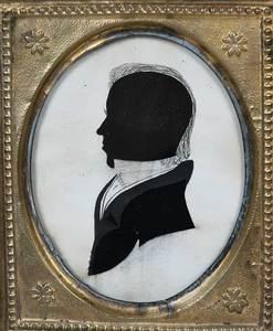 Four American Silhouette Portraits