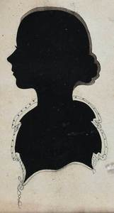 Five American Hollow Cut Silhouette Portraits