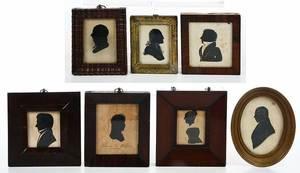 Seven Silhouette Portraits