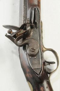 English Civilian Flintlock Rifle