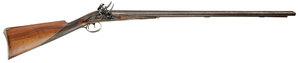 London Double Barrel Flintlock Rifle
