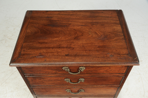 George III Mahogany Cabinet