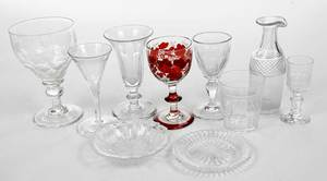 Large Group Assorted Stemware and Cordials