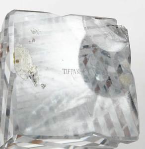 Tiffany & Co. Cut Glass Obelisk