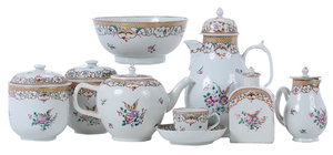 31 Pieces Chinese Export Tea Service