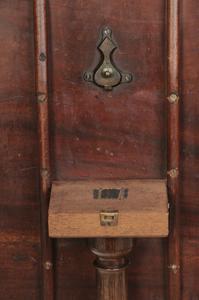 George III Carved Mahogany Tea Table