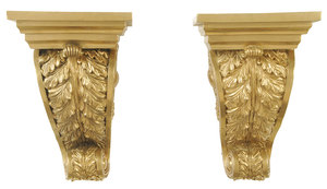 Pair Classical Style Brackets