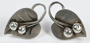 Georg Jensen Silver Set of Jewelry