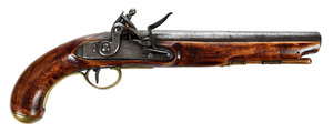 Georgian Stratham Flintlock Pistol