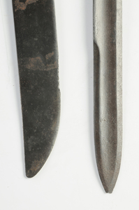 Two Antique Long Fascine Knives
