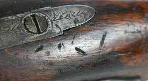 Georgian John Tow Flintlock Pistol