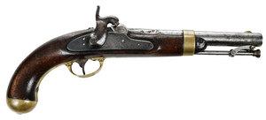 American H. Aston Model 1842 Percussion Pistol