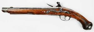 Antique Continental Flintlock Pistol