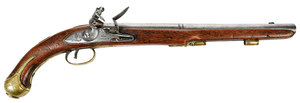 Georgian Chance Flintlock Pistol