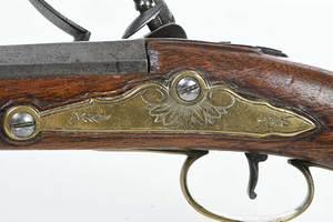 Georgian Chance Flintlock Pistol