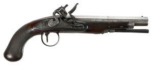 Georgian Reddell Flintlock Pistol