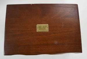 Steiff Lady Claire Sterling Flatware, 98 Pieces