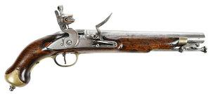 Georgian Brander and Potts Flintlock Pistol