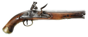 Georgian Ketland Flintlock Pistol