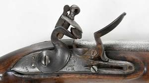Georgian Ketland Flintlock Pistol