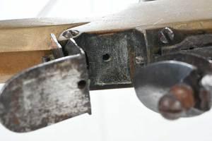 Belgian Flintlock Pistol With Dagger